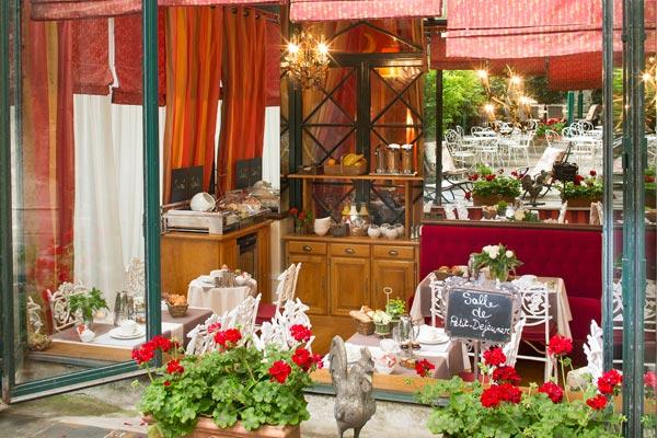 Hotel des Marronniers paris - petit déjeuner