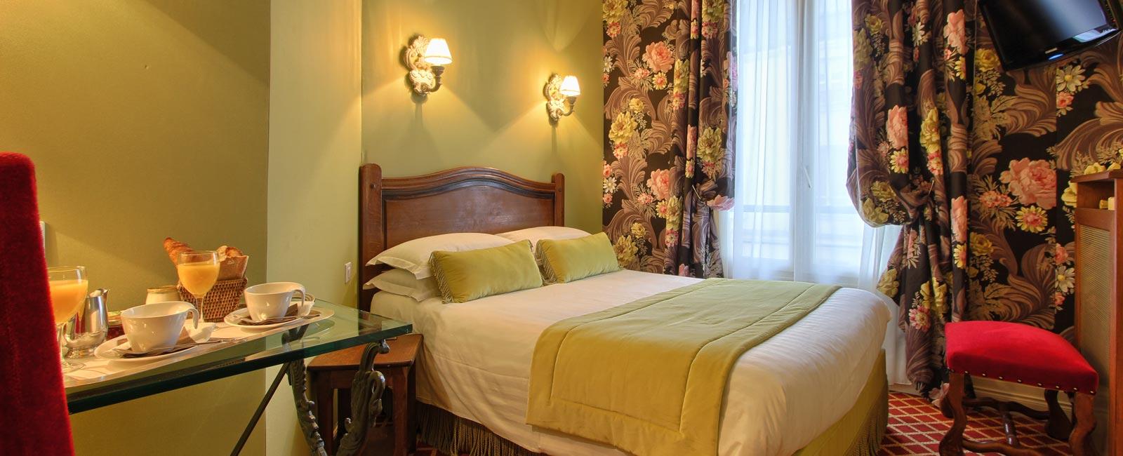Hôtel des Marronniers Paris Centre: Nos Chambres confortables et ...