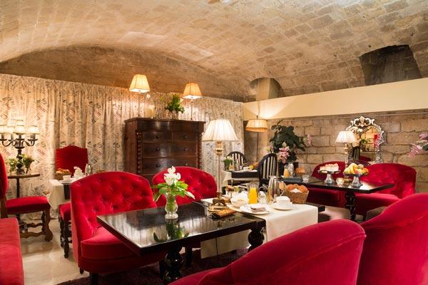 salons de l'hôtel des Marronniers Paris