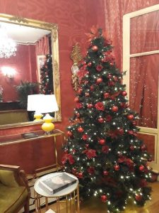 Christmas time at Hotel des Marronniers