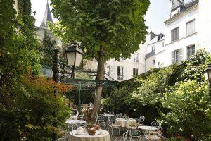 Un hôtel avec jardin à Paris 6.